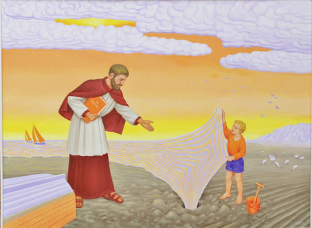 St Augustine and the Seashell