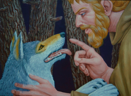 Editor's Notes: St Francis and the Wolf