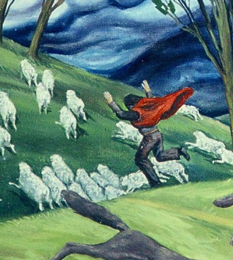 True Shepherd and the Wolves