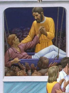 Paralytic at Capernaum