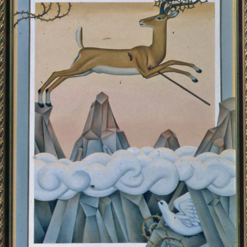 A Deer Leaping Mountains (2)