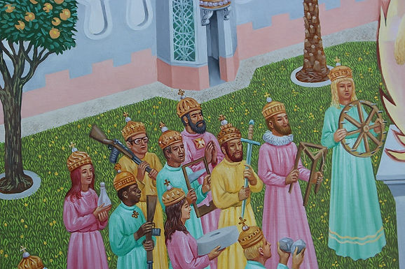 Blog: Martyrs and Holy People