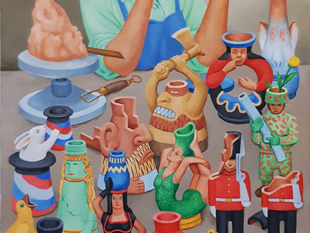 Painting Added: Potter and Clay