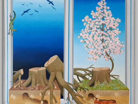 New painting added: Hope for a Tree