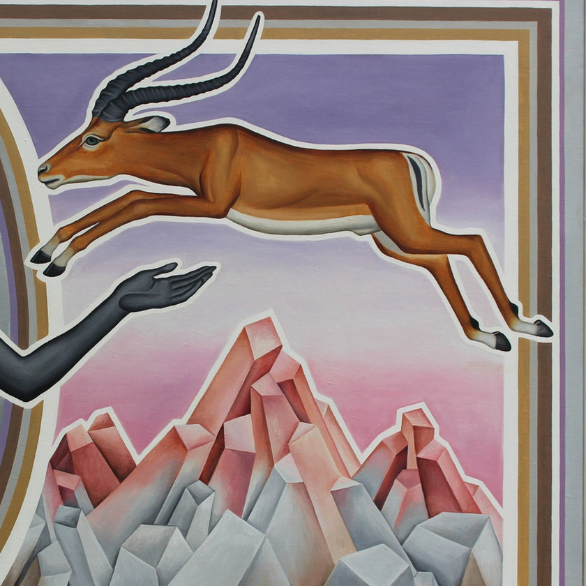 A Deer Leaping Mountains (1)