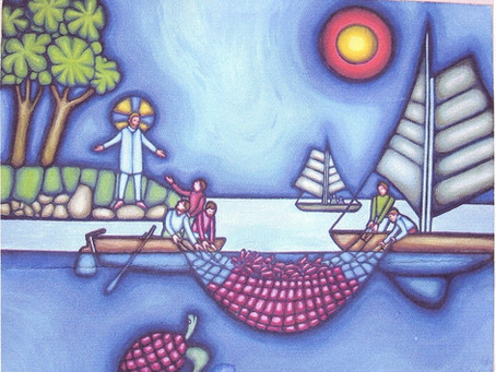 New painting added: Draft of Fishes
