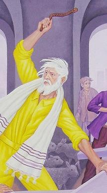 Christ Overturns the Tables of the Moneylenders