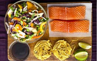 Sezónní recept - Stir-fry s lososem