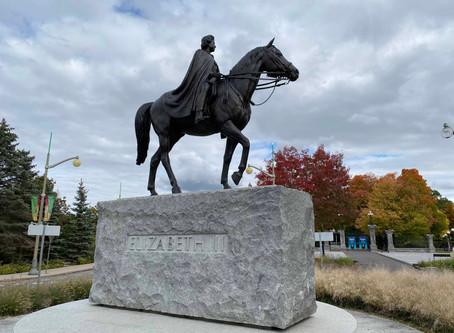 The Queen Elizabeth II Equestrian Monument