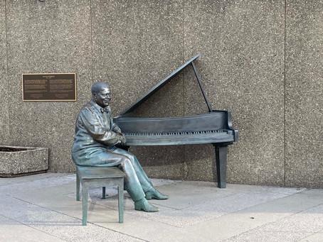 Oscar Peterson Sculpture