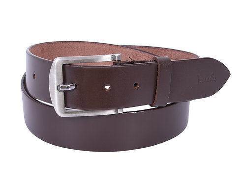 IRNADO Texas Leather Brown Belt