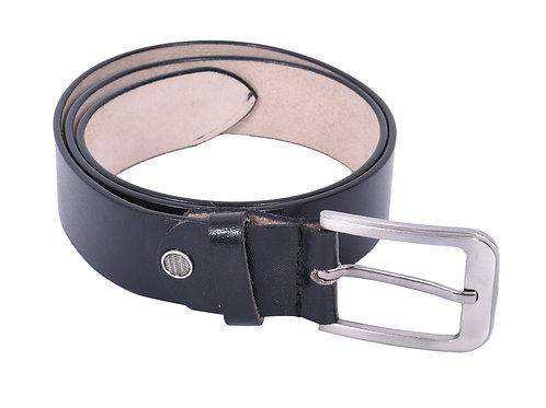 IRNADO Pinhole Leather Black Belt