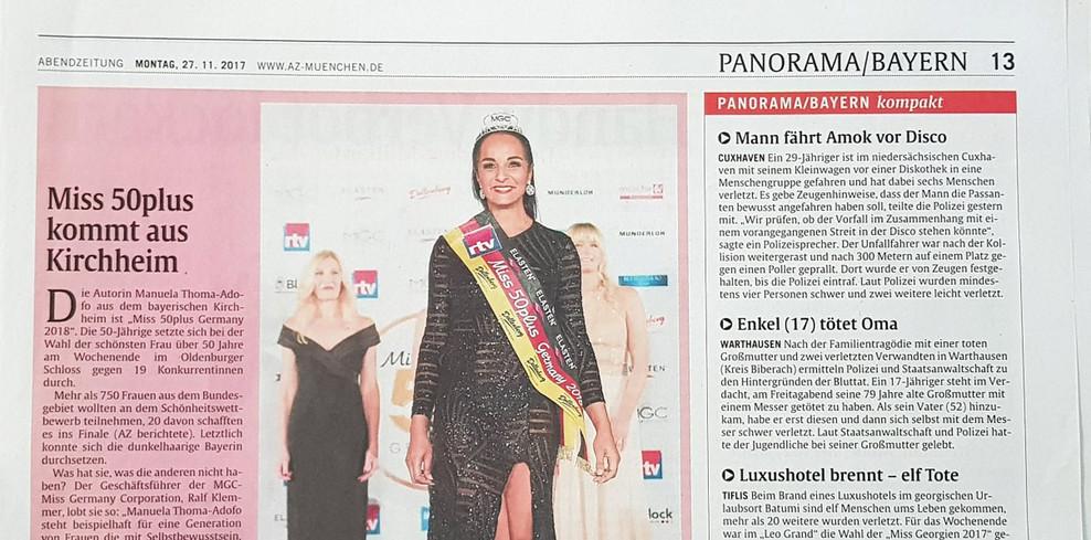 Abendzeitung November 2017