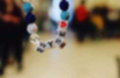A WYSE bracelet from a Women and Youth Suppoting Each Other mentoring session.