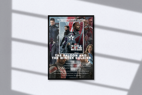 Falcon & Winter Soldier Poster
