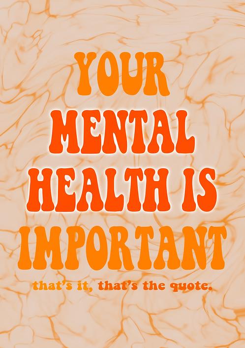 Mental Health Print