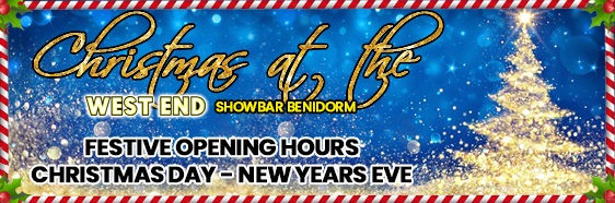 Christmas at the West End Showbar