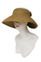 Topless Wide Brim Sun Visor Roll up Hat
