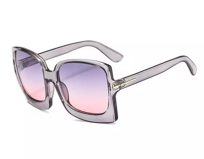 Gray Pink Sunglasses