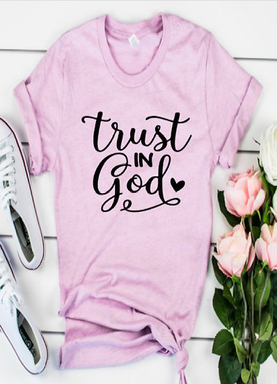 UDB Tust in God T-shirt