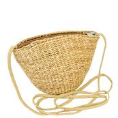 Mini Boho Chic Straw Cross body Bag