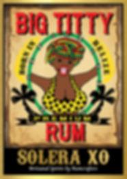 Big Titty Rum SoleraXO, Belize, Rum