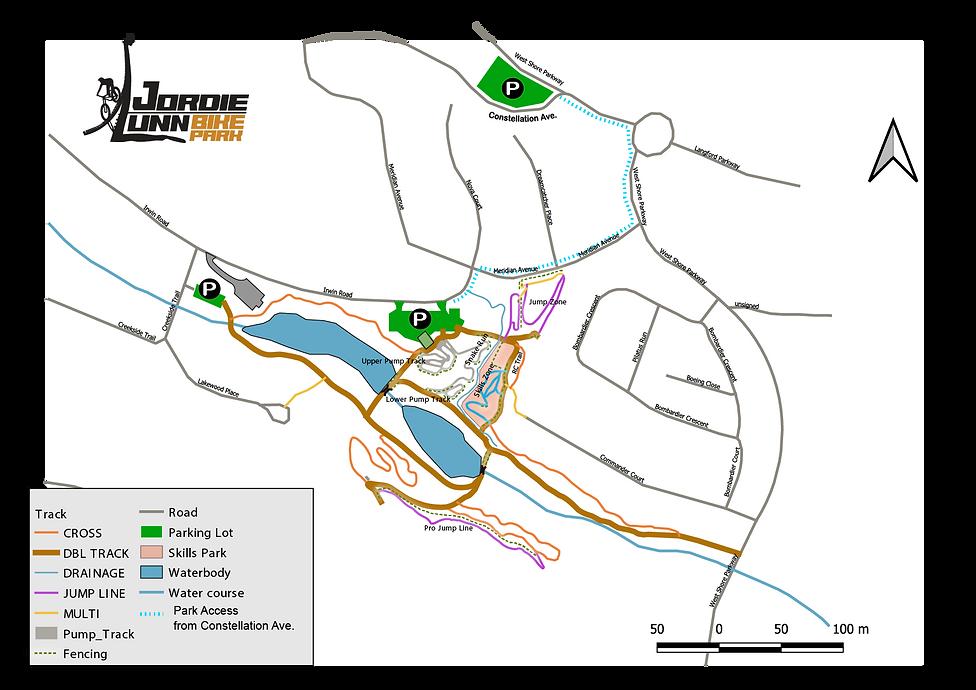 JLBP Parking Map