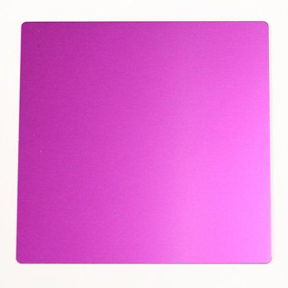 Large Purple Tesla Plate