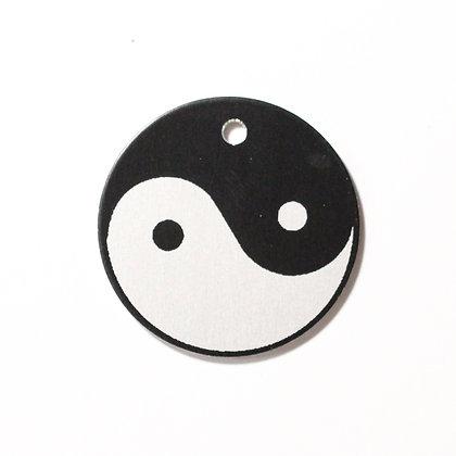 Yin Yang - Tesla Tachyon Disc Pendant