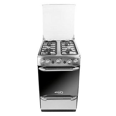 """Cocina ABBA de Piso a Gas Tipo Apartamento Platino (20"""") AB 201 6M N PL"""