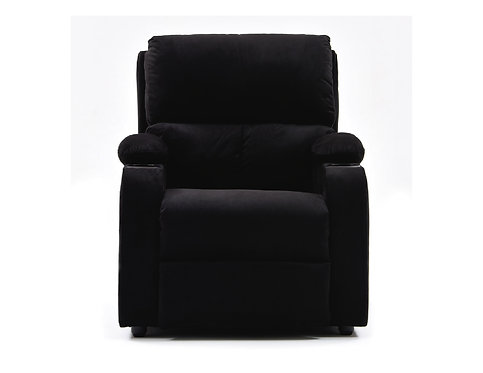Silla Reclinable Rest Relax Home Negro