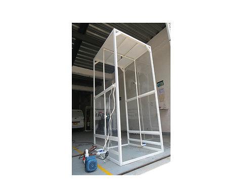 Cabinas de Desinfección Grupo Gams Ref: CABINA ALUMINIO