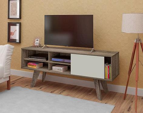 "Mueble para TV 60"" Bertolini Canela con Blanco 3815"