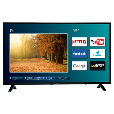 "Televisor Open 40"" Led Smart Tv 100cm OPLED4002S"