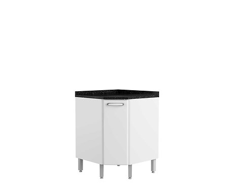 Mueble Esquinero Inferior Evidence Plus Blanco 711567046