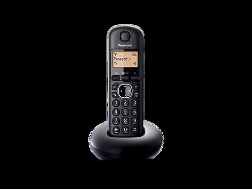 Teléfono Panasonic Inalámbrico Negro KX-TGB210LAB