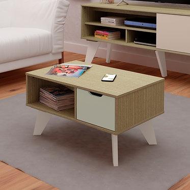 Mesa de Centro Vip Bertolini Mezcla con Blanco 3789