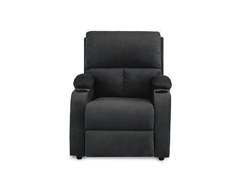 Silla Reclinable Rest Relax Home Gris Oscuro