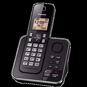 Teléfono Panasonic Inalámbrico Altavoz  KX-TGC360LAB