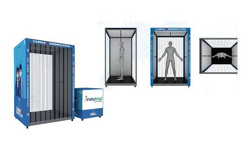 Cabinas de Desinfección Indufrial Ref: LIGHT TRAFFIC