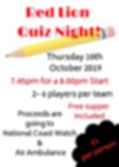 Red Lion Quiz Night! october.jpg