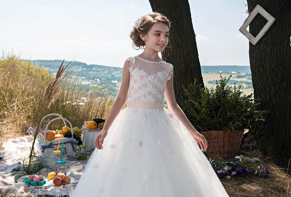 Vestido de Menina D 473