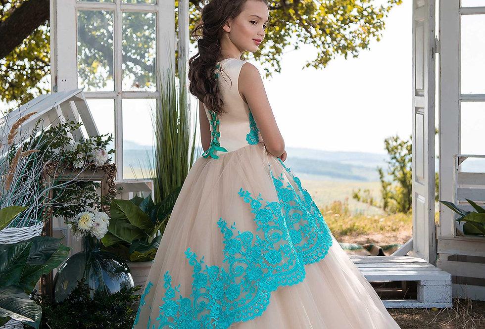 Vestido de Menina D 476