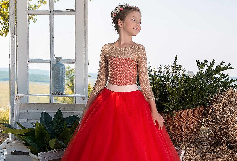 Vestido de Menina D 455