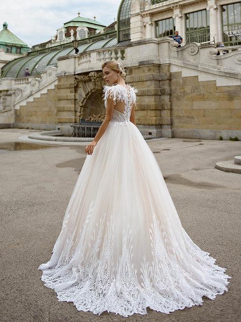 Vestido De Noiva Edição Limitada J-824