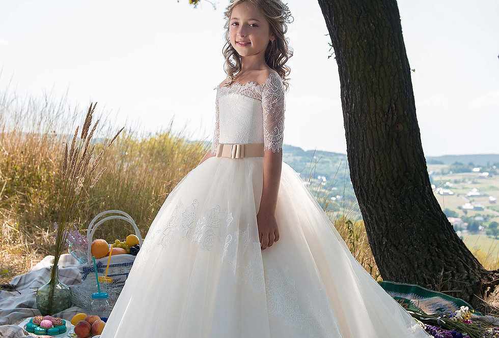 Vestido de Menina D499