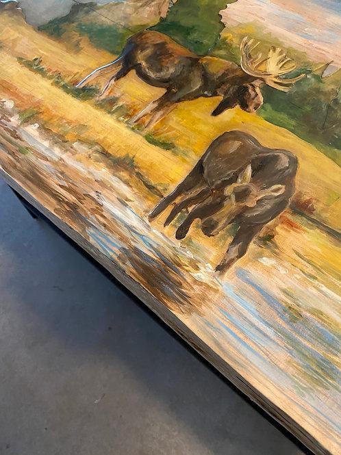 Wildlife Sofa/Bar Table