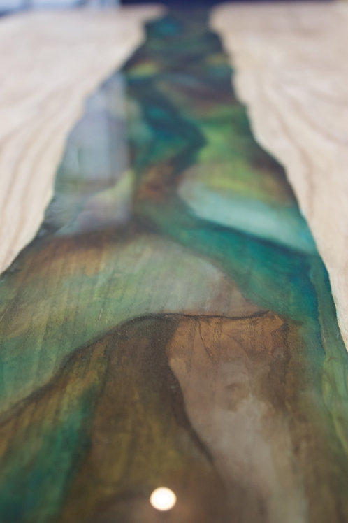 River Waterfall Table