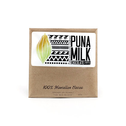 Chocolate Bar, Milk (Puna Chocolate Co.)