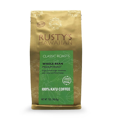 Coffee, Kau 7 oz - Medium (Rusty's)